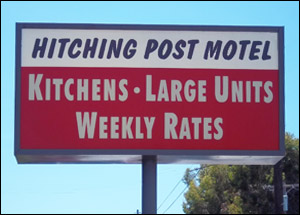 Hitching Post Motels San Diego